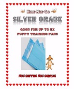"""30x30"""" 150ct Here Wee Go Silver Deluxe Extra Absorbent 3x Puppy Training... - $44.99"""