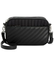 Steve Madden Barkley Nylon Mixed Camera Bag Crossbody, Black $88 - $45.14