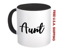 Aunt : Gift Mug Quote Family Love Auntie - $13.37+