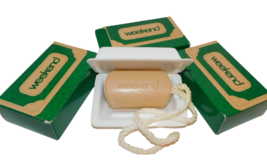3 Bars of Vintage Avon WEEKEND Soap on a Rope New in Box - $32.85