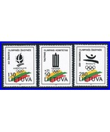 Litauen 1992 Barcelona Olympics MNH Sports (K-Lm-Dec) ( Auch Expensive ???) - $1.28