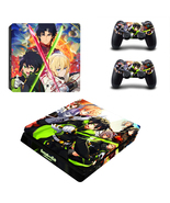 Seraph of the End Anime PS4 Slim Console Skin Vinyl Skin Sticker Decals ... - $12.50
