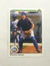 1990 Upper Deck #185 Mackey Sasser Mets - $3.99
