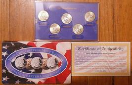 2001 Uncirculated State Quarter Philadelphia Mint Set. - $3.50