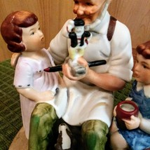 Vintage 1980 Norman Rockwell Toy Maker Figurine Collector's Club  image 5