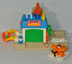 Vintage Fisher Price Little People Floating Marina #2582 Complete 0120!!! - $113.85
