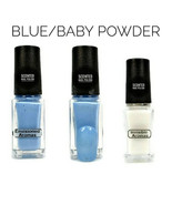 Two if by Scent Collection Blue/Baby Powder Scented Nail Polish - $7.00