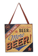 "KURT S. ADLER ""THE ONLY THING BETTER THAN BEER IS MORE BEER!"" CHRISTMAS ... - $4.88"