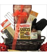 Grillin' & Chillin': Gourmet BBQ Gift Basket Great Arrivals BBQ - $121.51