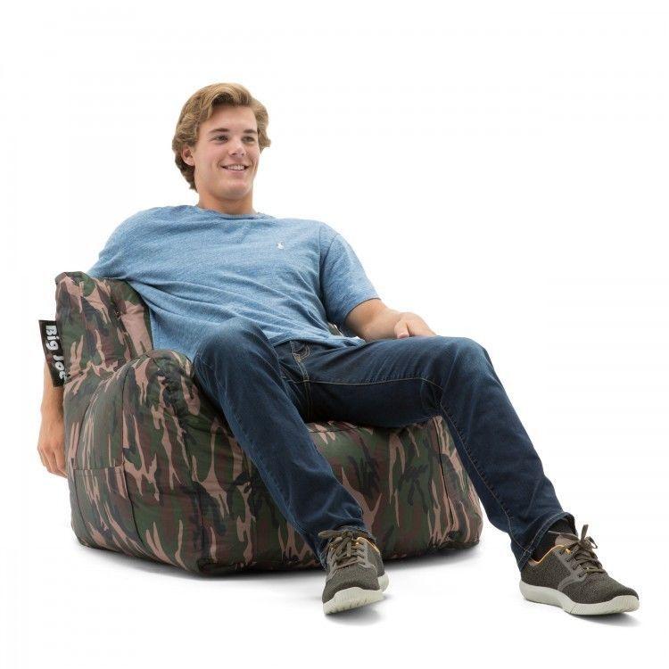 Terrific Camo Bean Bag Chair Video Games Tv College Dorm Room Bedroom Spiritservingveterans Wood Chair Design Ideas Spiritservingveteransorg