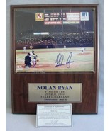Nolan Ryan 6th No Hitter Autographed Limited Edition 1990 Photograph wit... - $157.21