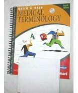 Quick & Easy Medical Terminology Por Peggy C Leonard 2003 Libro en Rústi... - $18.69