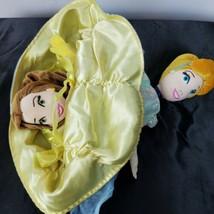 Disney Parks Princess Topsy Turvy Flip 2 in 1 Plush Doll Cinderella & Be... - $22.75