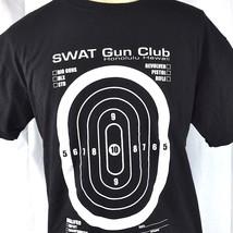 Swat Gun Club Honolulu Hawaii Target Practice L T-Shirt Large Mens Sharp... - $24.07