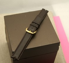 New Gucci 16 MM Smooth Leather Band - Generic Clasp (16.113N GC) - For 2000 M - $34.95