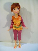"DISNEY TINKERBELL & THE LOST TREASURE FAWN FAIRY FRIEND 9"" DOLL JAKKS - $29.35"