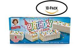 Little Debbie Birthday Cakes (10 boxes) - $39.99