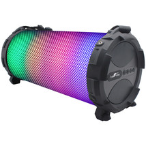 beFree Bluetooth Portable Speaker With Sound Reactive LED Lights, Built-... - $55.10 CAD