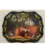 Ian Logan Platter Tray Hand Painted by Artist Lucy Neil Collectible Vintage - $77.39