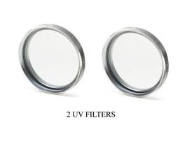 2X UV Filters for Sony DCR-HC94 DCRHC94 DCR-DVD101E DCR-DVD91 - $11.64