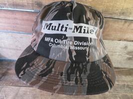 Multi-Mile MFA Oil Tire Division Columbia Missouri Snapback Adult Cap Hat - $19.79