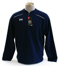 Under Armour UA Ultimate Cage Team Blue 1/4 Zip Baseball Jacket Men's NWT - $48.74