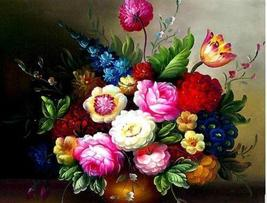 DIY painting wholesale 5d diamond diamond embroidery painting  flowers Agents - $34.99