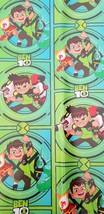 Ben 10 Aliens Wrapping Paper Gift Book Cover Party Wrap Birthday Friend 2 Sheets - $14.80