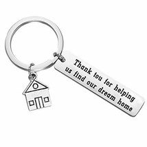 POTIY Realtor Keychain Thank You Gift for Realtor Real Estate Broker Jew... - $13.77