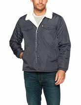Levi's Men's Premium Multi Pocket Button Up Sherpa Coach Trucker Jacket image 4