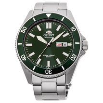 Orient Kanno Diver Watch for Men RA-AA0914E19B Green Dial, New  with Tags - $174.99