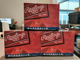 [LOT OF 3 DOZEN] Rawlings FSOLB1 Official League Baseballs - $139.88