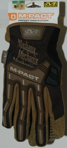 Mechanix Wear 911751 M PACT Impact Protection Gloves Brown Black XL