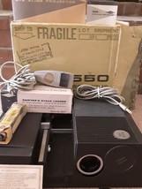 Sawyer's 550ER slide projector : corded remote, stack loader, Excellent ... - $54.45