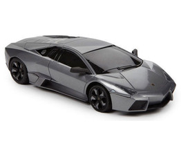BRAHA LAMBORGHINI REVENTION R/C 1:24 Band 49 MHz Ages 6+ Silver Full Fun... - $25.21