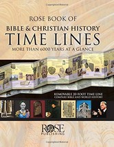 Rose Book of Bible & Christian History Time Lines [Hardcover] Publishing... - $16.32