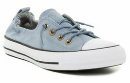 Converse Women Chuck Taylor All Star CTAS Shoreline Slip Blue Skate Size... - $59.00