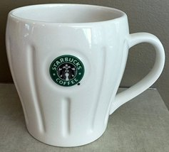 Starbucks 2003 Pleated Logo Mug Siren/Mermaid - White, 18 fl oz - $49.49