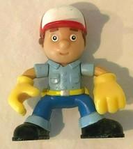 "Disney Handy Manny 2.5""  PVC Figure 2010 Mattel Blue Outfit and Hat - $4.99"
