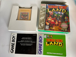 Donkey Kong Land (Nintendo Game Boy 1995) Authentic In Box With Manual - $75.70