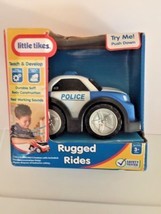 Little Tikes Rugged Rides Age 3+ Soft Body with Working Sounds Police Ca... - $19.79
