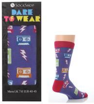 1 Pair Dare To Wear Socks In Gift Box 7-11 Uk 40-45 Eur - Sockshop - Eighties - $5.10