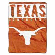 "Texas Longhorns 60"" by 80"" Twin Size Raschel Blanket-Basic Design - NCAA - $36.85"