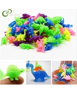 10 pieces plastic Mini dinosaur toys can be loaded into a small toy for ... - $13.49