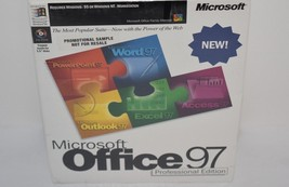 Microsoft Office 97 Professional Edition Factory Sealed New - $44.80
