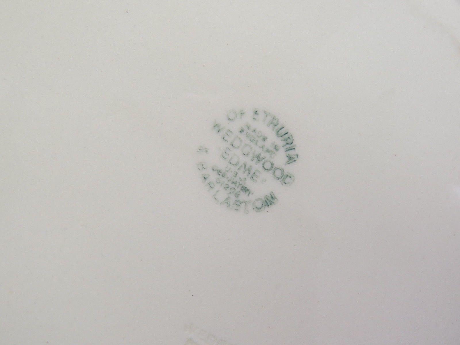 "2 Wedgwood Edme Creamware Oval Vegetable Serving Bowls 10.75"" image 6"
