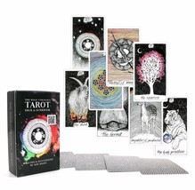 The Wild Unknown Tarot Deck Rider-Waite 78pcs Oracle Set Fortune Telling... - $18.99