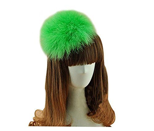 Beautiful Charming Feather Hairpin for Parties/Stage/Wedding,Green