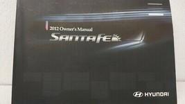2012 Hyundai Santa Fe Owners Manual 73465 - $28.53