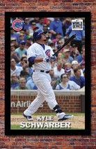"""MLB World Series Kyle Schwarber Poster   Chicago Cubs   13"""" wide x 19"""" tall - $14.95"""